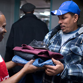 1,421 articles of clothing were provided to help hurting neighbors who have so little. See what else your gifts provided...