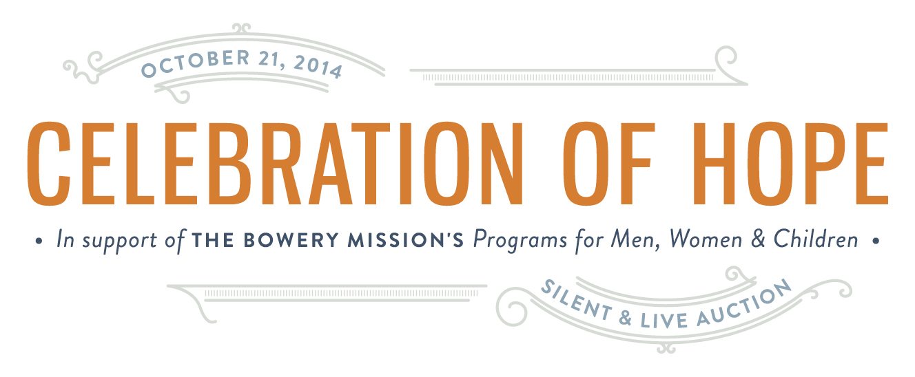 Celebration of Hope - Silent & Live Auction 2014