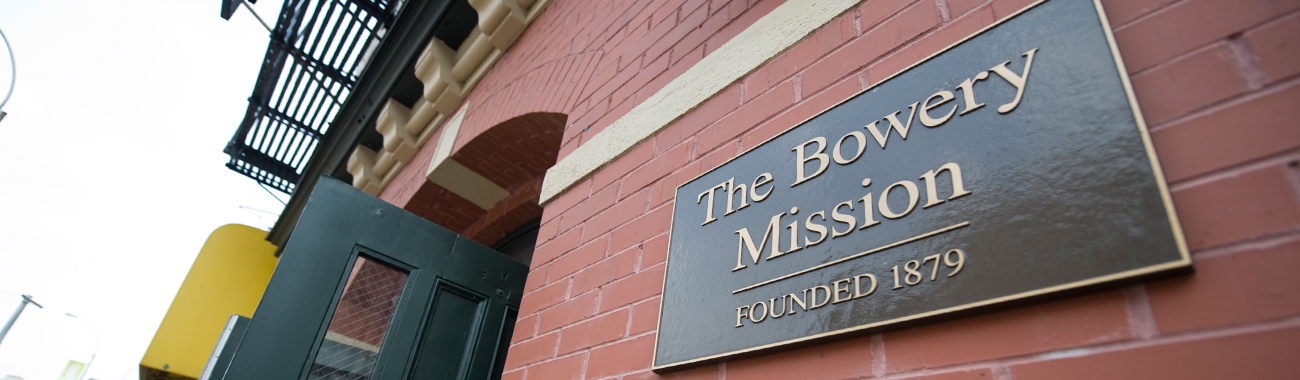 About The Bowery Mission