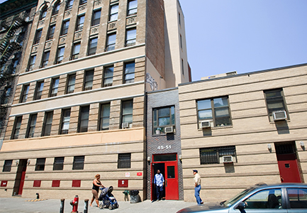 The Bowery Mission Transitional Center building