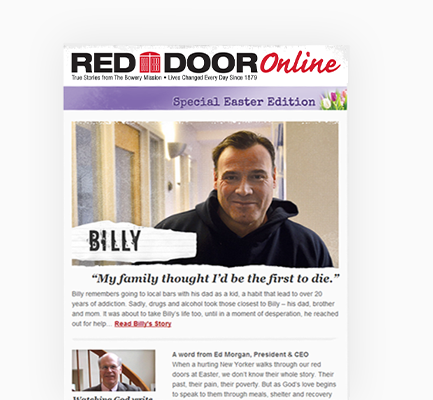 Red Door Newsletter Online