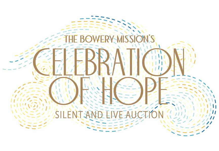 The Bowery Mission's Celebration of Hope Silent and Live Auction