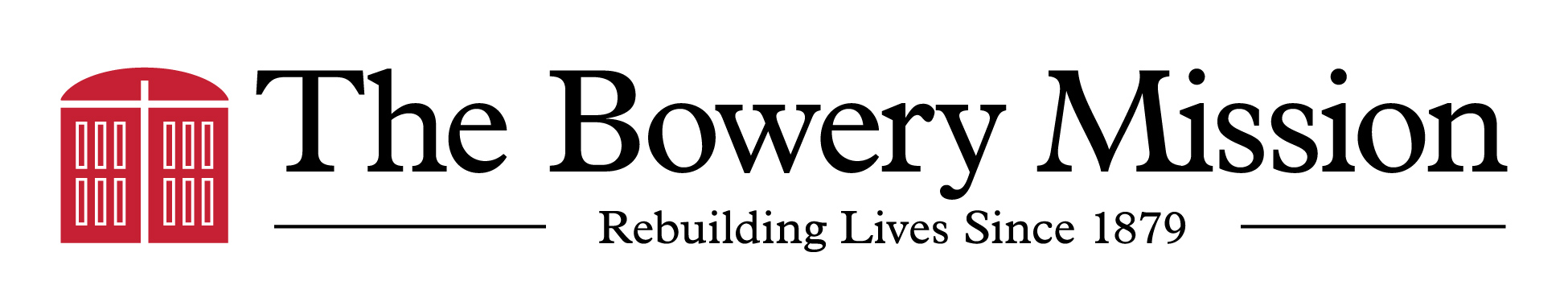 The Bowery Mission logo linear