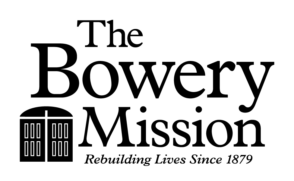The Bowery Mission logo primary black
